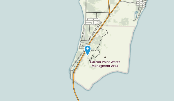 Garcon Point Water Management Area Map