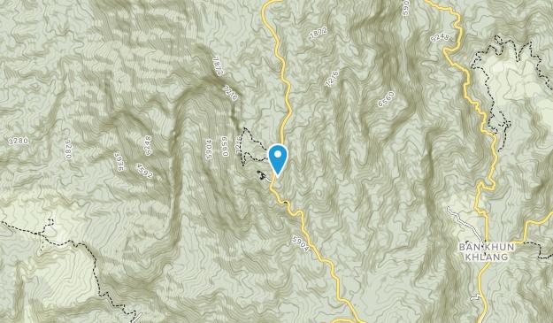 Doi Inthanon National Park Map