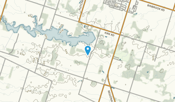 Binbrook Conservation Area Map