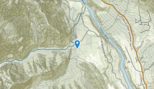 Stein Valley Park Map