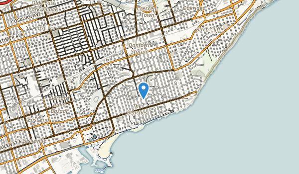 Glen Stewart Park Map