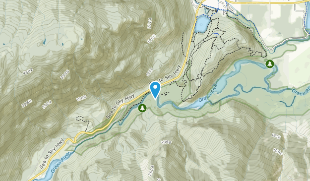 Nairn Falls Provincial Park Map