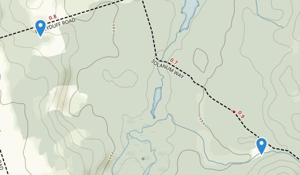 Fleetwood Creek Natural Area Map