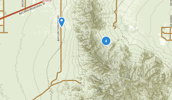 Aguirre Springs National Recreation Area Map