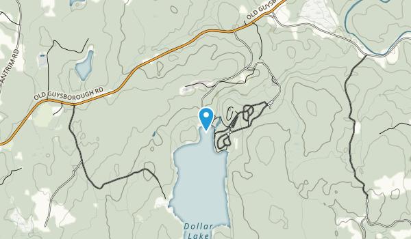 Dollar Lake Provincial Park Map