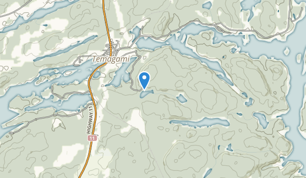 Finlayson Point Provincial Park Map
