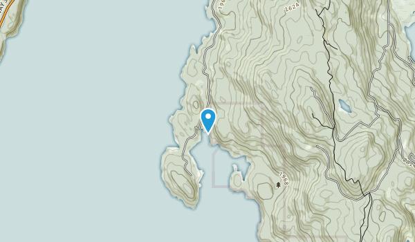 Pilot Bay Provincial Park Map