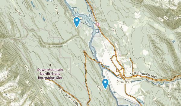Columbia Wetlands Wildlife Management Area Map