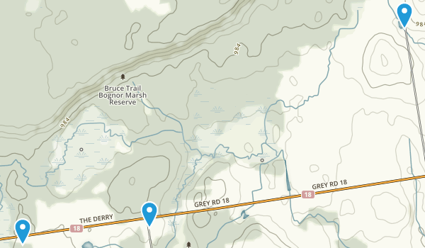 Bognor Marsh Conservation Area Map