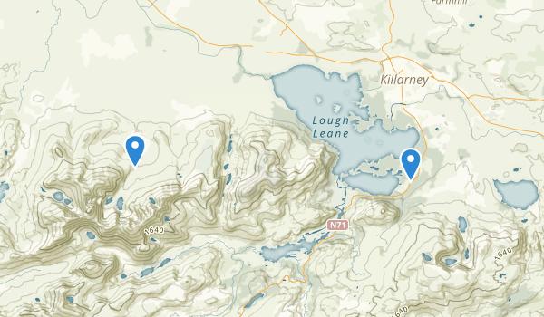 Killarney National Park Map