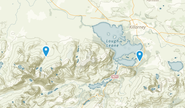 Killarney National Park Map