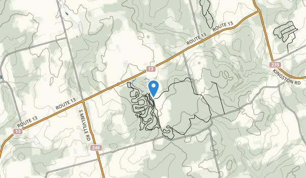 Brookvale Provincial Park Map