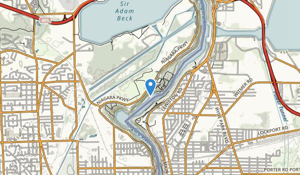 Niagara Glen Nature Preserve Map