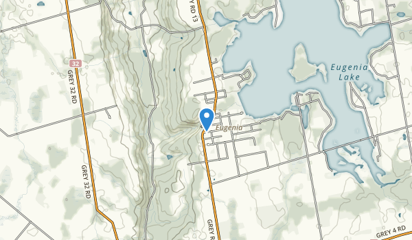 Eugenia Falls Conservation Area Map