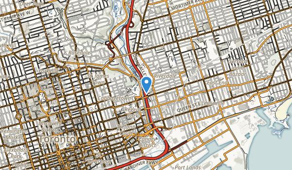 Riverdale Park East Map