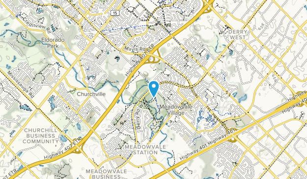 Meadowvale Conservation Area Map