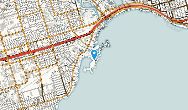 Humber Bay Park West Map