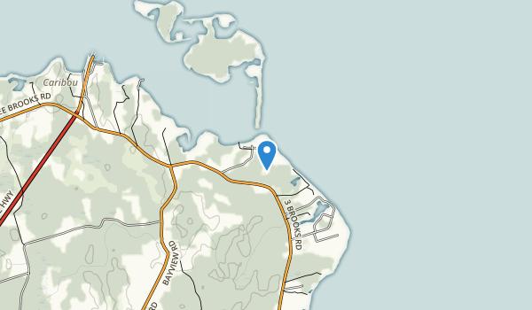 Caribou-Munroes Island Provincial Park Map