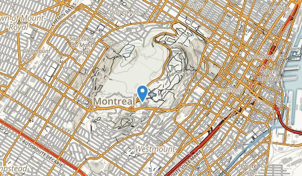Parc du Mont Royal Map