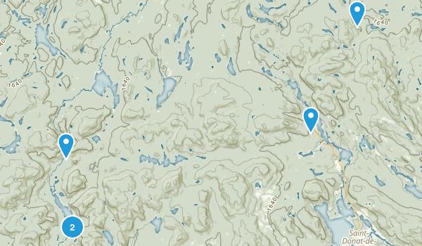 Parc national du Mont-Tremblant Map