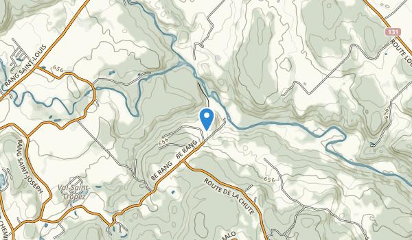 Parc Regional des Chutes-Monte-a-Peine-et-des-Dalles Map