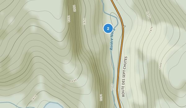 Parc Regional des Sept Chutes Map