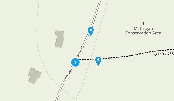 Mount Pisgah Conservation Area  Map