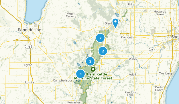Best Trails in Kettle Moraine State Forest Northern Unit - Wisconsin on point beach state forest map, south dakota map, pa state forest map, glacial drumlin state trail map, savage river state forest map, moraine state park map, franklin state forest map, black river state forest map, mill bluff state park map, kanawha state forest map, stewart state forest map, devil's lake state park map, wisconsin map, tar hollow state forest map, tahuya state forest trail map, tillamook state forest map, greene-sullivan state forest map, elbe hills state forest map, dupont state forest map, prentice cooper state forest map,