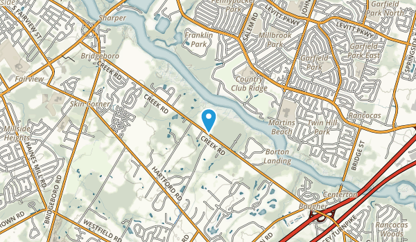 Boundary Creek Park Map