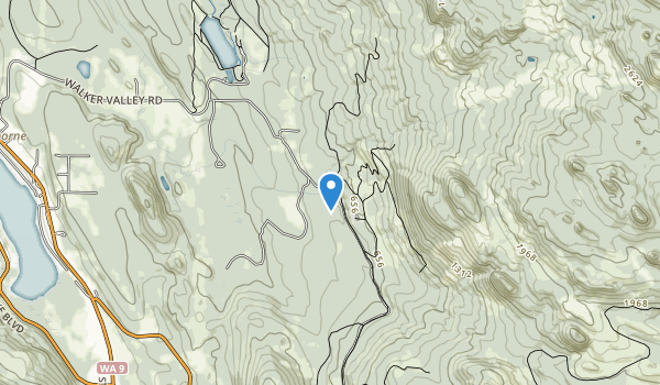 Walker Valley ORV Recreational Area Map