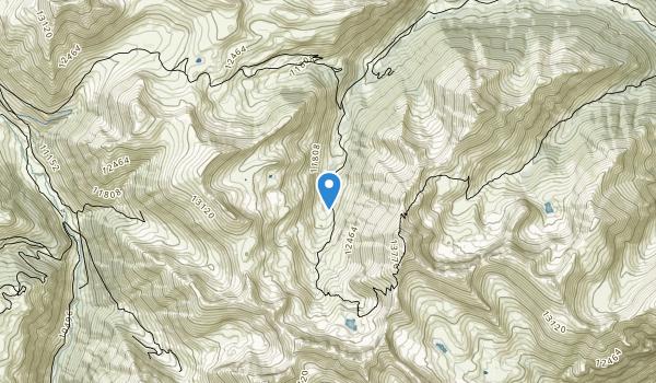 Handies Peak Wilderness Map