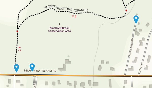 Amethyst Brook Conservation Area Map