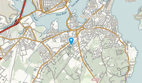 Hinckley Park Map