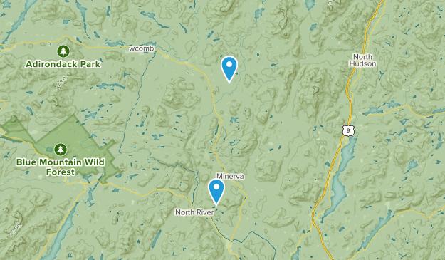 Vanderwhacker Mountain Wild Forest Map