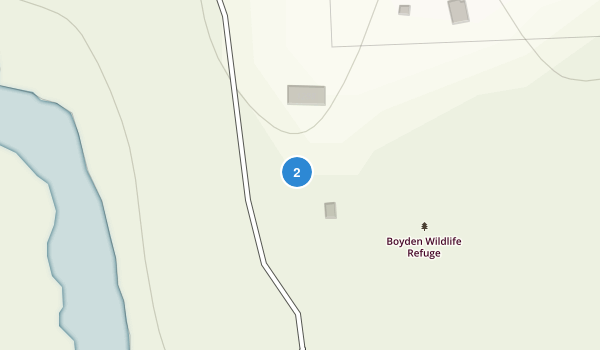 Boyden Wildlife Refuge Map