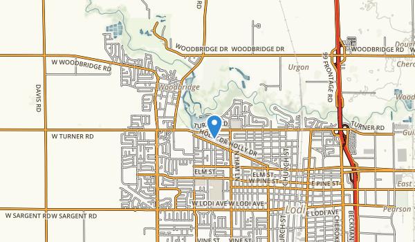 Lodi Lake Park Map