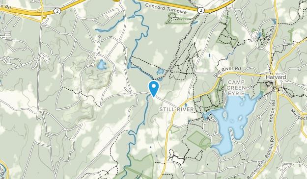 Oxbow National Wildlife Refuge Map