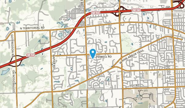 Miller Woods Map