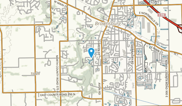 Williams Park Map