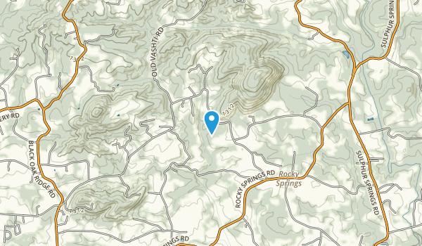 Rocky Face Mountain Recreation Area Map