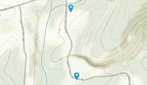 Rocky Face Mountain Recreation Area Map