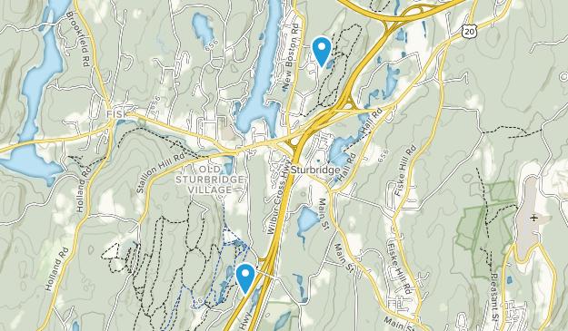 Opacum Woods Map