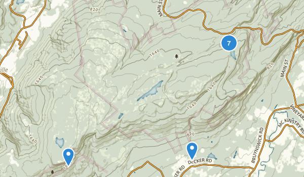Minnewaska State Park Preserve Map