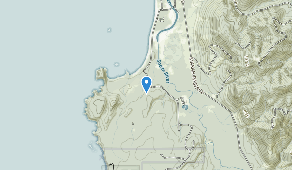 Makah Indian Reservation Map