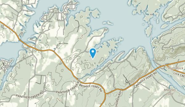 Black Road Preserve Map