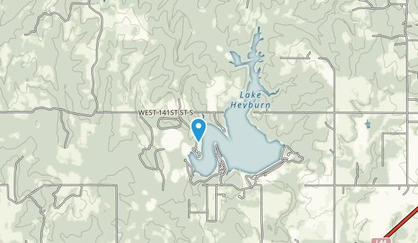 Lake Heyburn State Park Map