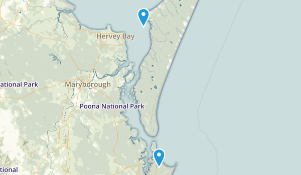 Great Sandy National Park Map