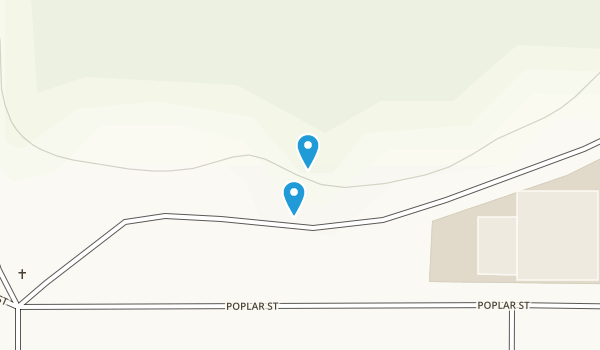 Al Quall Recreational Area Map