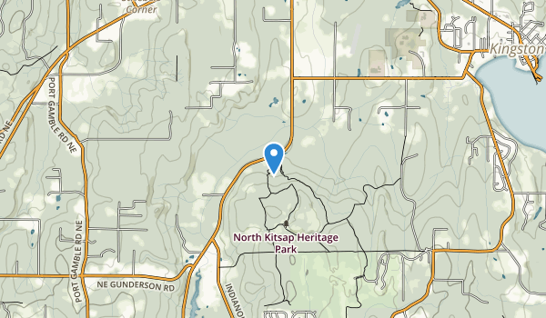 North Kitsap Heritage Park Map