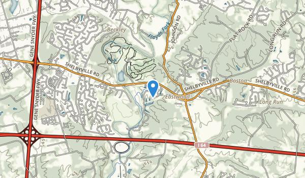 William F. Miles Park Map